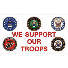 We Support Our Troops